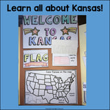 Kansas Lapbook for Early Learners - A State Study