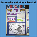 Massachusetts Lapbook for Early Learners - A State Study