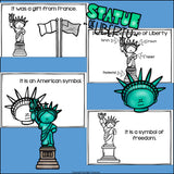 Statue of Liberty Mini Book for Early Readers: American Symbols