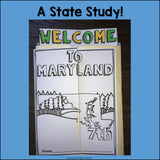 Maryland Lapbook for Early Learners - A State Study