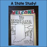Indiana Lapbook for Early Learners - A State Study