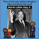 Martin Luther King Jr. Day Mini Book for Early Readers