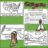 Cheyenne Tribe Mini Book for Early Readers