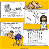 Ancient Egypt Mini Book for Early Readers