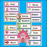 Fantasy Name Tags - Editable