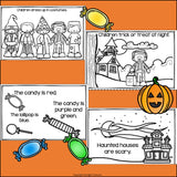 Halloween Mini Book for Early Readers