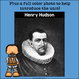 Henry Hudson Mini Book for Early Readers: Early Explorers
