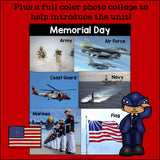 Memorial Day Mini Book for Early Readers