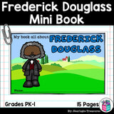 Frederick Douglass Mini Book for Early Readers: Black History Month