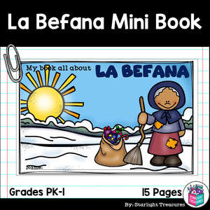 Christmas in Italy: La Befana Mini Book for Early Readers