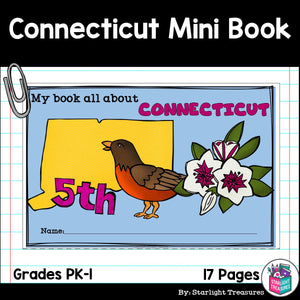 Connecticut Mini Book for Early Readers - A State Study