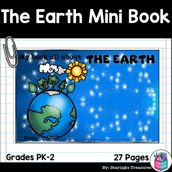 The Earth Mini Book for Early Readers: Geology and the History of the Earth