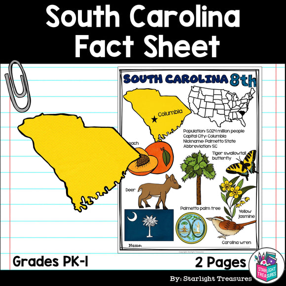 South Carolina Fact Sheet