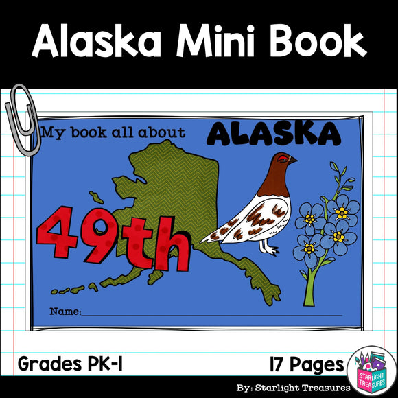 Alaska Mini Book for Early Readers