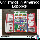 Christmas in America Lapbook for Early Learners