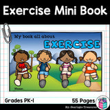 Exercise and Sports Mini Book for Early Readers