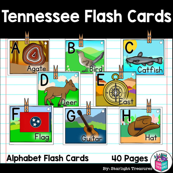 Tennessee Flash Cards
