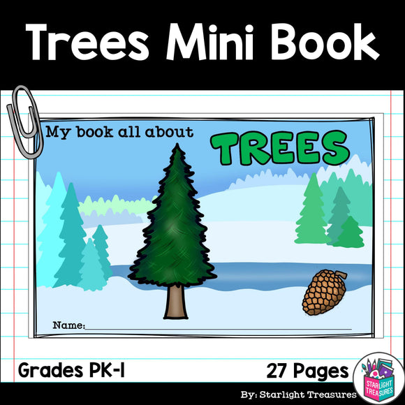 Trees Mini Book for Early Readers