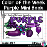 Colors of the Week: Purple Mini Book