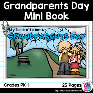 Grandparents Day Mini Book for Early Readers