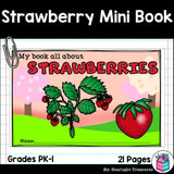 Strawberry Mini Book for Early Readers