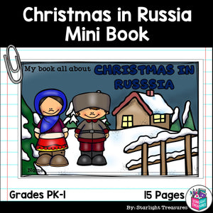 Christmas in Russia Mini Book for Early Readers