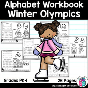 Worksheets A-Z Winter Olympics 2018