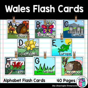 Wales Flash Cards