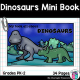 Dinosaurs Mini Book for Early Readers