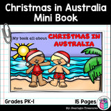 Christmas in Australia Mini Book for Early Readers