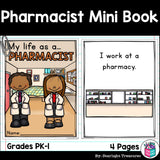 Pharmacist Mini Book for Early Readers