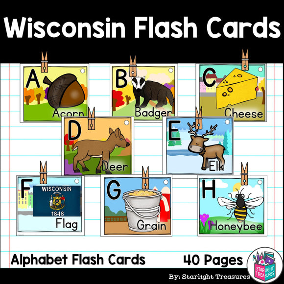 Wisconsin Flash Cards