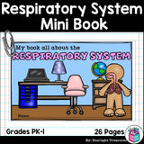 Human Body Systems: Respiratory System Mini Book for Early Readers
