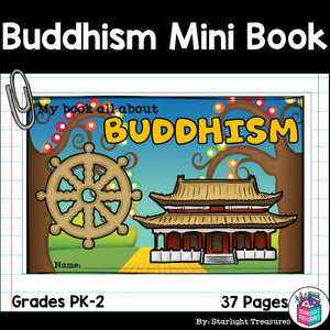 Buddhism Mini Book for Early Readers: World Religions