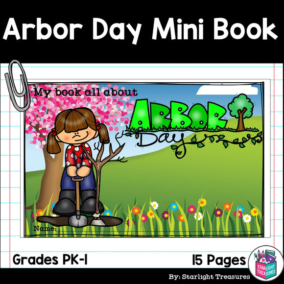 Arbor Day Mini Book for Early Readers