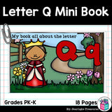 Alphabet Letter of the Week: The Letter Q Mini Book