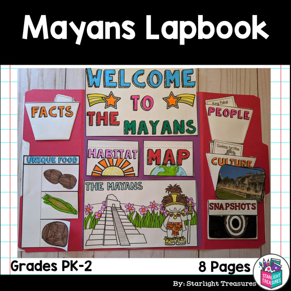 Mayan Lapbook for Early Learners - Ancient Civilizations