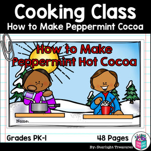 How to Make Peppermint Hot Cocoa for Early Readers
