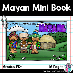 Mayan Mini Book for Early Readers