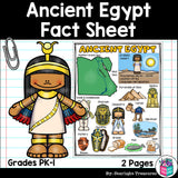 Ancient Egypt Fact Sheet