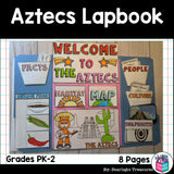Aztec Lapbook for Early Learners - Ancient Civilizations