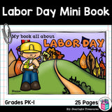 Labor Day Mini Book for Early Readers