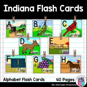 Indiana Flash Cards