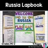 Russia Lapbook for Early Learners - A Country Study