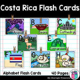 Costa Rica Flash Cards