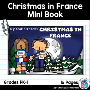 Christmas in France Mini Book for Early Readers