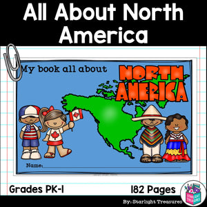 All About North America Complete Unit