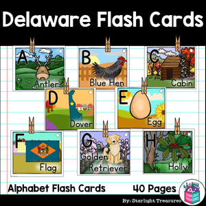 Delaware Flash Cards