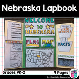 Nebraska Lapbook for Early Learners - A State Study