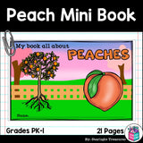 Peach Mini Book for Early Readers
